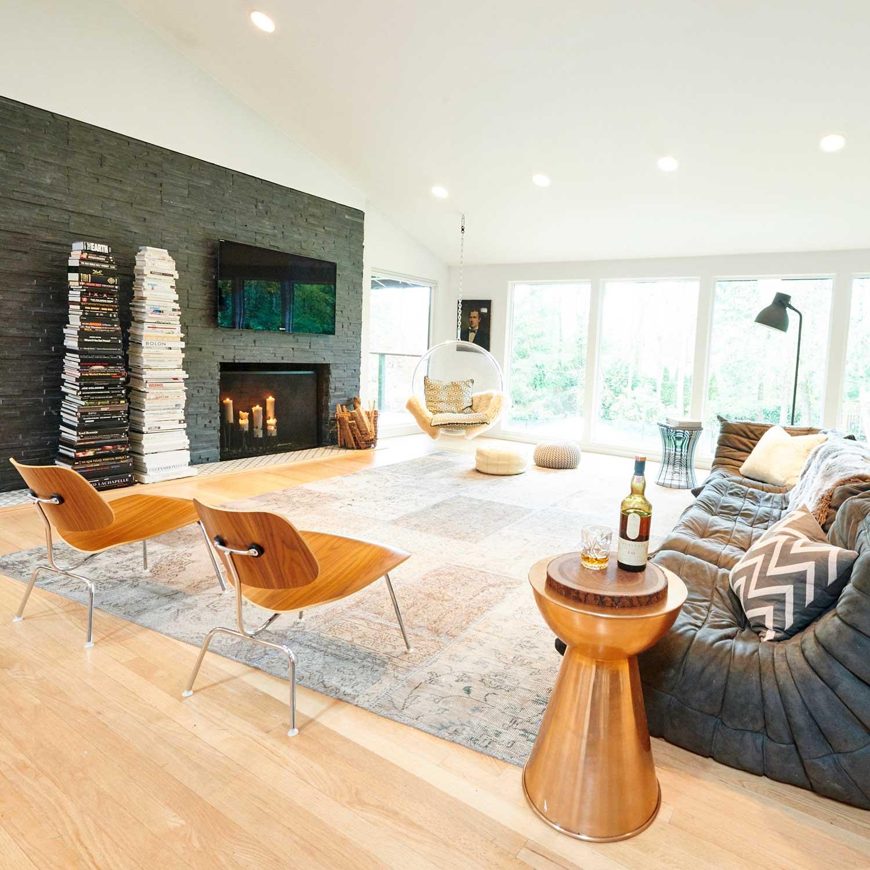 Dosch house - living room