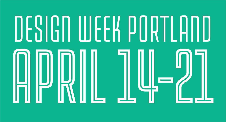 Design Week Portland 2018