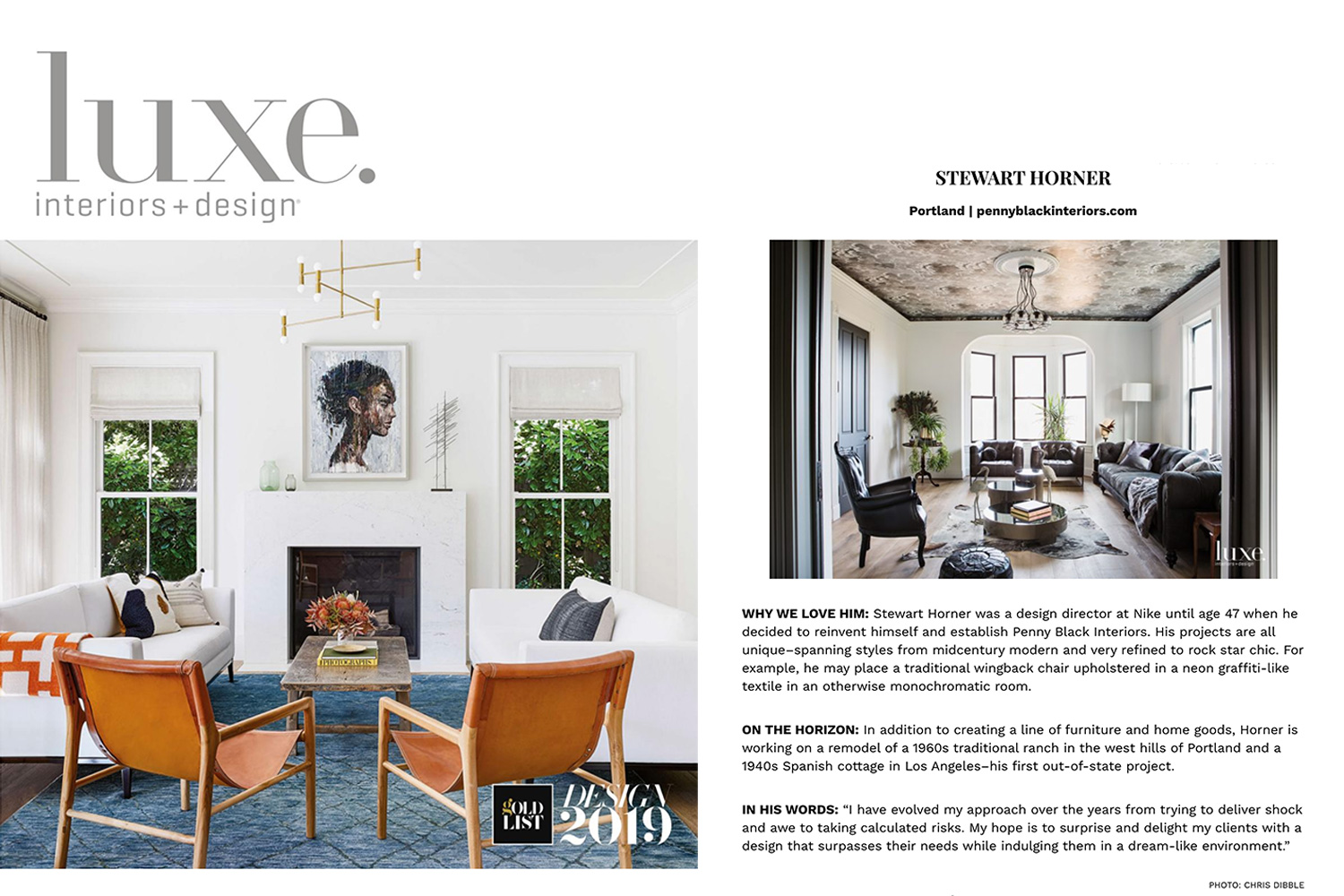 """Luxe Jan/Feb 2019 Edition """"Making Waves"""""""